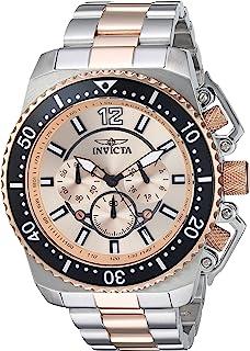 Men's 'Pro Diver' Quartz Stainless Steel Casual Watch (Model: 21956)