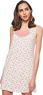 JOANNA Women's Floral Pattern Pajama Dress