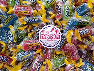 Jolly Ranchers - 2 lbs Green Apple Blue Raspberry Grape Watermelon Cherry Fresh Delicious Bulk Assorted Candy with Refrigerator Magnet