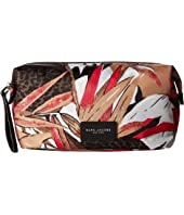 Marc Jacobs - Palm Printed Biker Large Cosmetics Landscape Pouch
