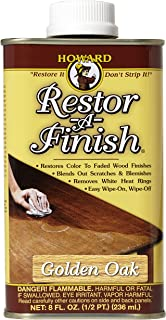 Howard Products RF3008 Restor-A-Finish, 8 oz, Golden Oak
