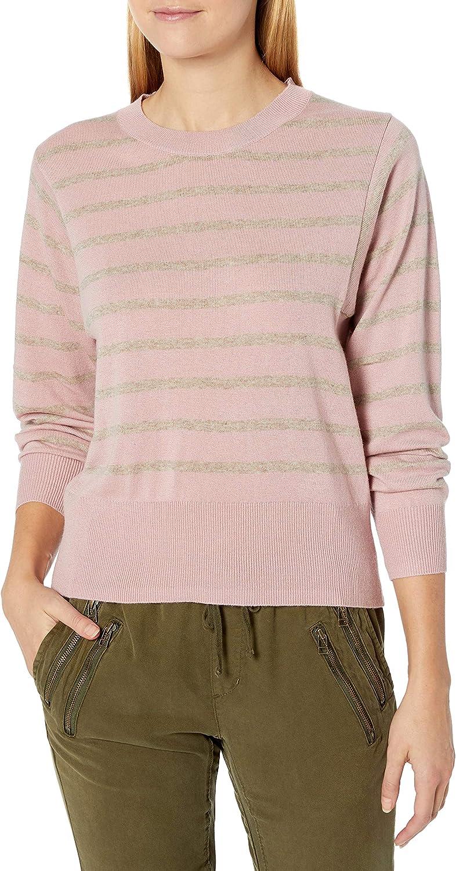 Splendid Women's Crewneck Long Sleeve Pullover Sweater