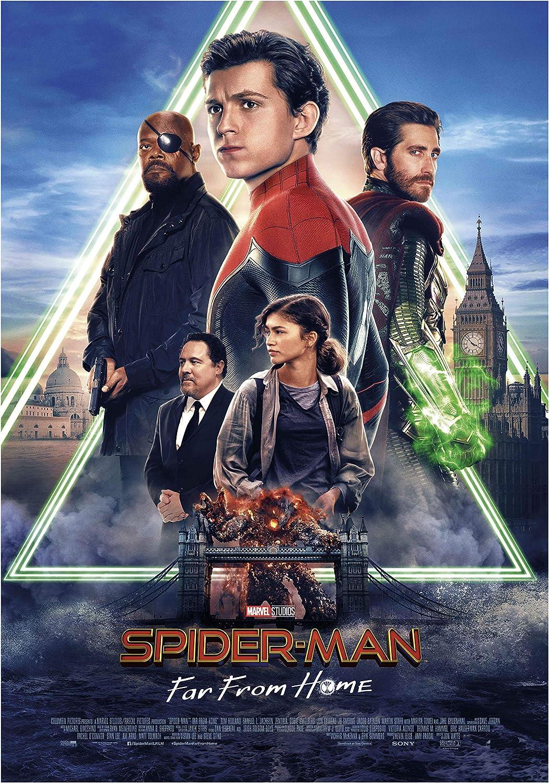 Movie Cinema Poster Film Art Print SPIDER-MAN FAR FROM HOME 2019 Marvel Comics