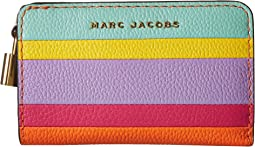 Marc Jacobs - The Grind Color Blocked Compact Wallet