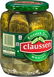 Claussen Kosher Dill Whole Pickles (32 oz Jar)