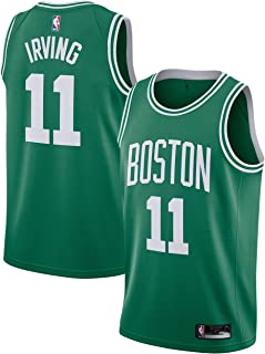 Outerstuff Kyrie Irving Boston Celtics #11 Green Youth Road Swingman Jersey