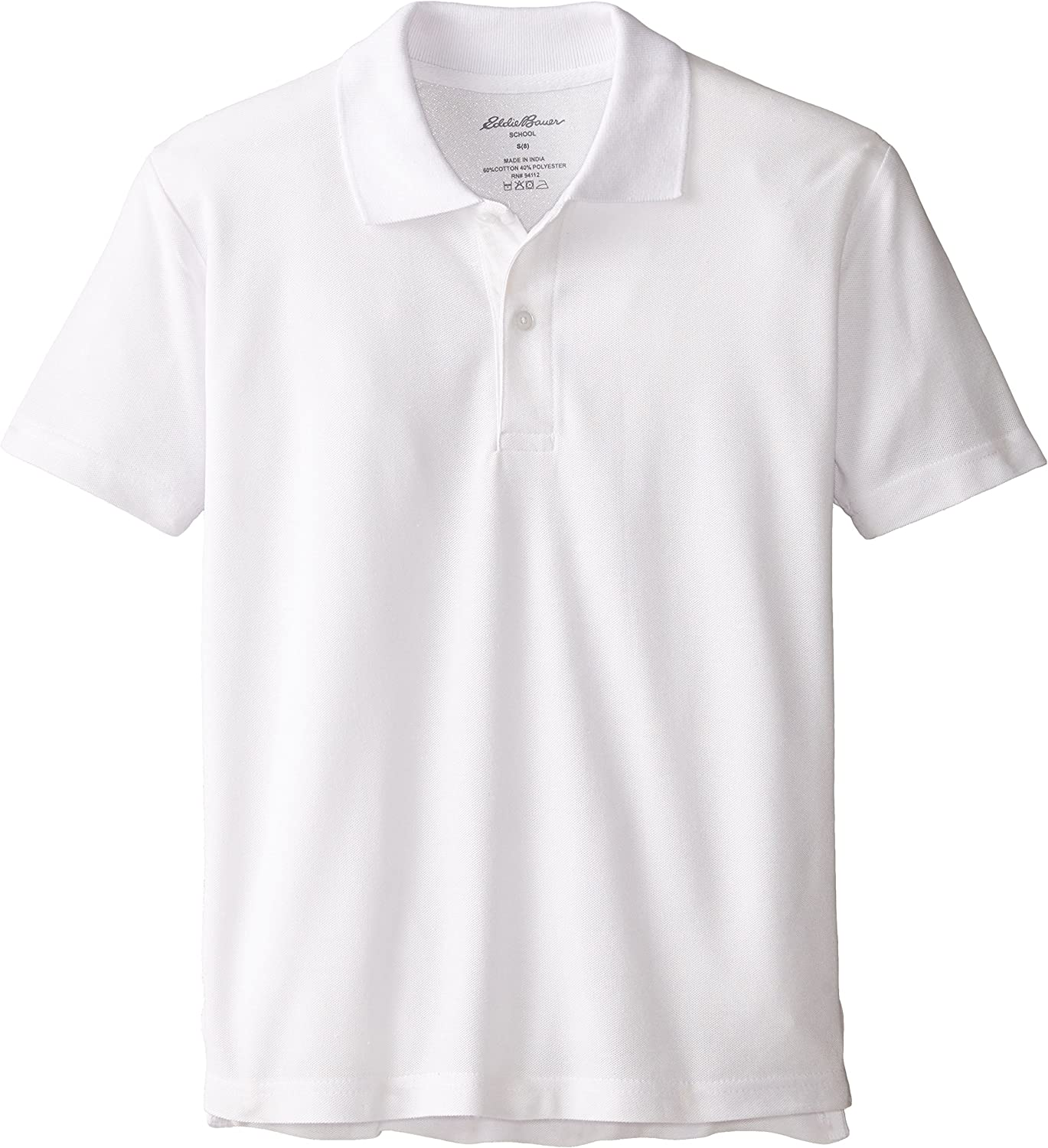 Eddie Bauer Boys Short or Long Sleeve Polo Shirt More Styles Available