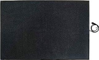 En rojo de calefacción sistemas, a prueba de alfombra calefactora 180 x 120 cm, 680 W, 70127