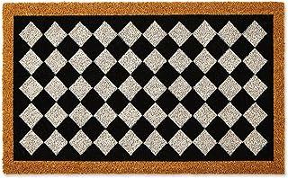 """DII Natural Coir Doormat, Geometric Doormat, Harlequin, 18x30"""""""