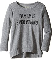 The Original Retro Brand Kids - Family is Everything Tri-Blend Pullover (Big Kids)