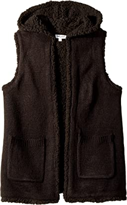 Splendid Littles - Hooded Sherpa Vest (Big Kids)