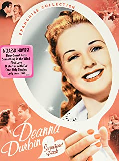 Deanna Durbin Sweetheart Pack: (Three Smart Girls / Something In the Wind / First Love / It Started with Eve / Can't Help Singing / Lady on a Train)