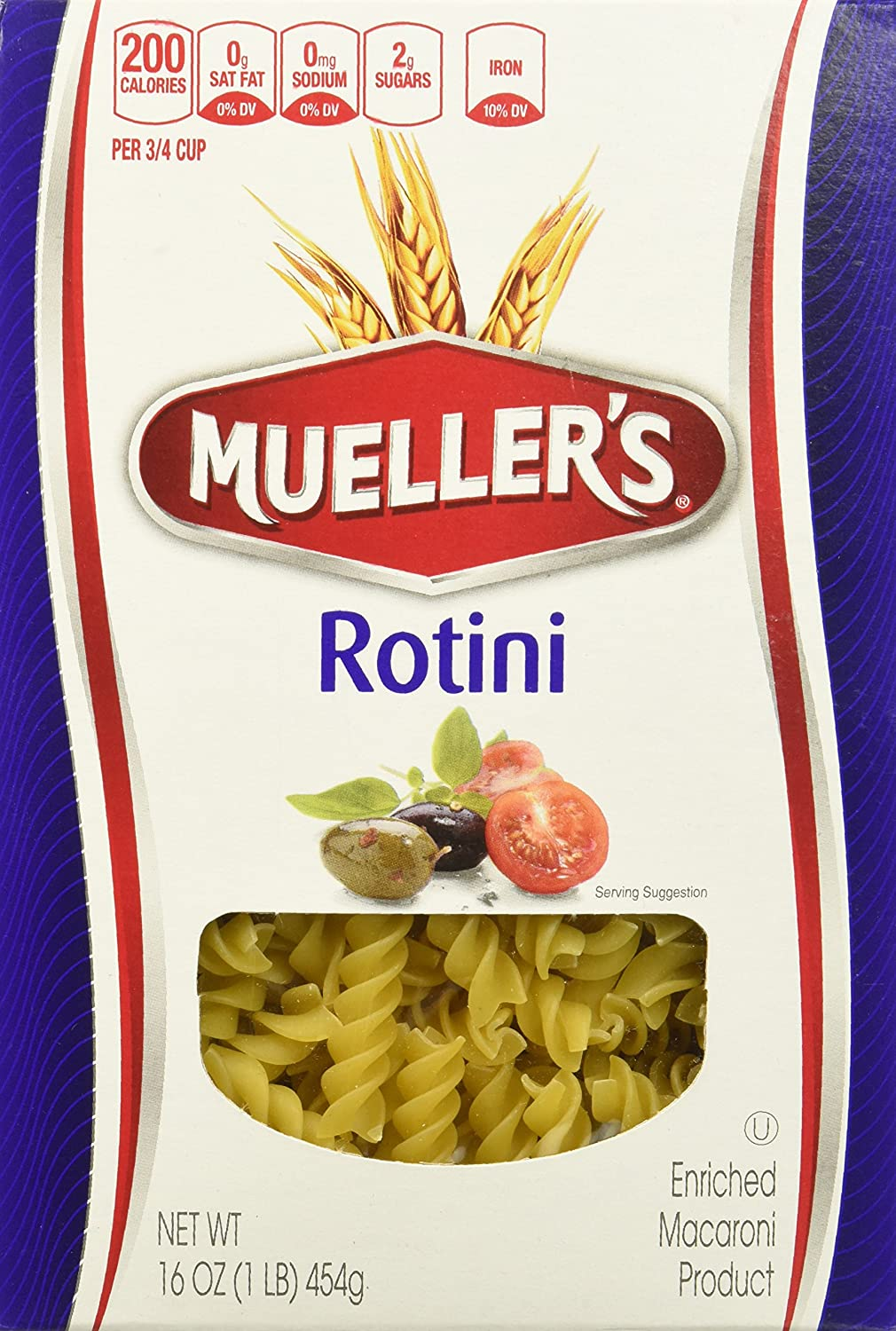 Mueller's Rotini Ounce 16 Max Fixed price for sale 84% OFF