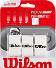 Wilson Sporting Goods Pro Perforated Tennis Racket Grip (Pack of 3)