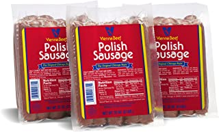 Vienna Beef Polish Lovers Pack 2 lbs. each (3 Pack)