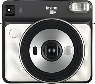 Fujifilm Instax SQ6 - Cámara analógica instantánea Formato Cuadrado Color Blanco (Pearl)