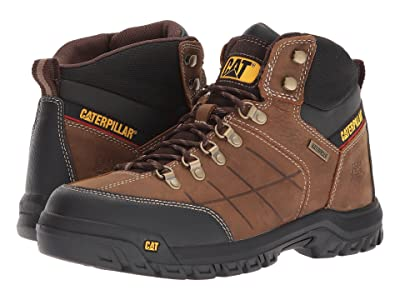 Caterpillar Threshold Waterproof Soft Toe (Brown) Men