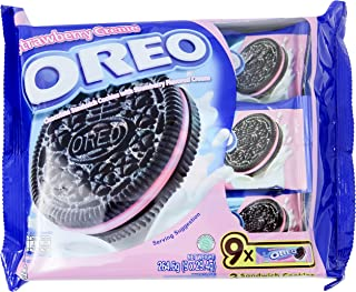 Oreo Strawberry Cookies, 29.4g (Pack of 9)