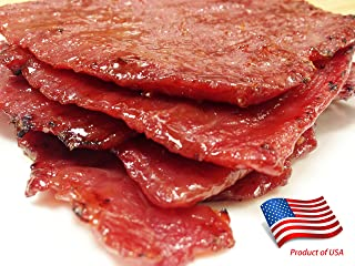 """World Famous Made-to-Order Fire-Grilled (Singapore-Style) Asian Beef Jerky (Original Flavor - 12 Ounce) - Los Angeles Times """"Handmade Gift"""" Winner"""