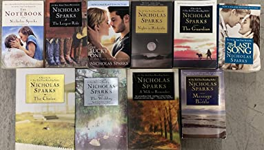 Nicholas Sparks Romance Paperback Novel Collection 10 Book Set