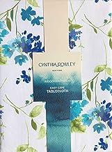 "NEW CYNTHIA ROWLEY Outdoor Fabric UMBRELLA TABLECLOTH 70/"" Round Multicolored"
