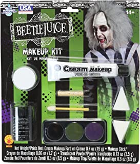 beetlejuice costume makeup
