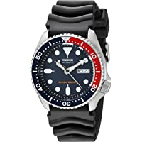 Seiko Divers Deep Blue Dial Black Pepsi Bezel Men's Automatic Watch