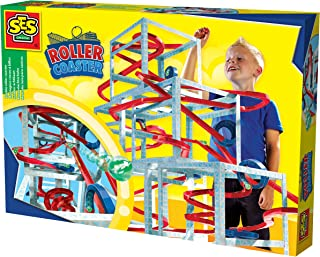 SES Creative Marble Roller Coaster, multicolour, Roller Coster, 14503