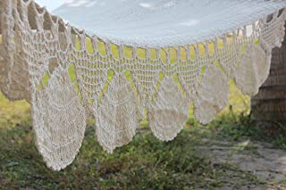 Natural White Handmade Hammock By Nicaraguan Artisans - Fair Trade Product