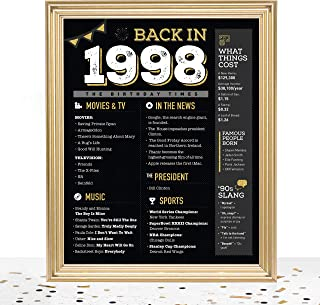 GoodSite Brands 21st Birthday Decorations Gifts for Women and Men (21st Sign (unframed))