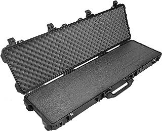 Case Club Pelican 1750 Case, Black Closed Cell Military Grade Polyethylene Foam & Convolute Foam in The Lid