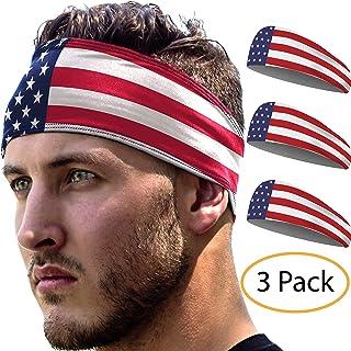 Sports Headbands: UNISEX Design With Inner Grip Strip to...