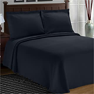 Superior Diamond Solitaire Jacquard Matelassé 100% Premium Cotton Bedspread with Matching Shams, King, Navy Blue