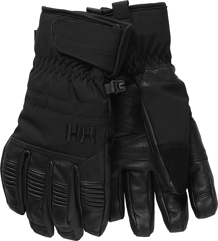 Helly-Hansen Womens Leather Mix Waterproof Insulated Ski Snowboard Glove