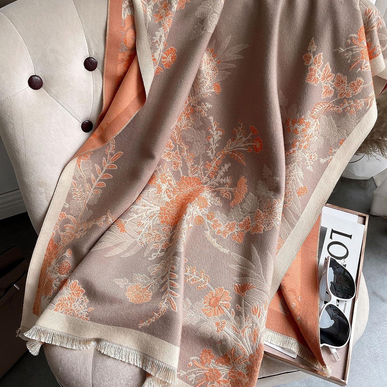 YSJJBTS Scarf Women Warm Winter Pashmina Discount is also underway Foulard Femme Bla Shawl Max 70% OFF