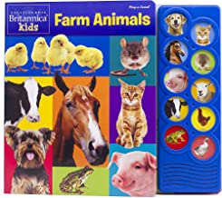Encyclopedia Britannica - Kids Farm Animals Listen and Learn Sound Book - PI Kids