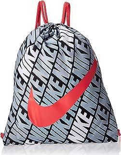 Nike Unisex-Erwachsene BA6208-010 Y Nk Gmsk-AOP Su20 Rucksack, Schwarz Rot, Einheitsgröße, Negro/Track Red, Talla Única
