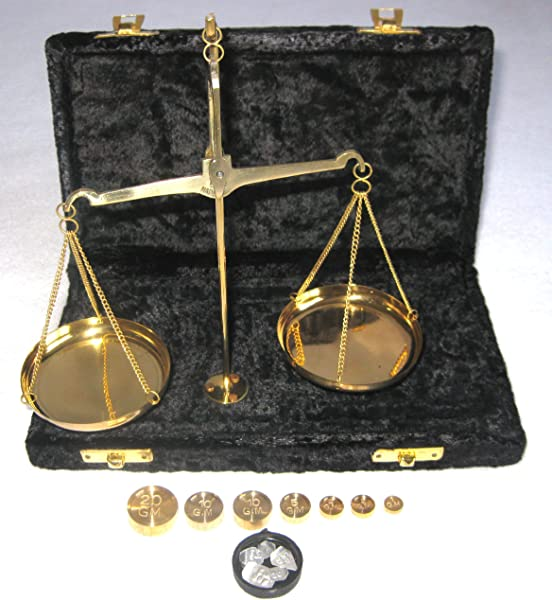 Brass Scales 50Gm Traditional Balance 20 Gram Scales In Brass