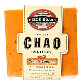 Field Roast, Chao Vegan Slices Tomato Cayenne, 7 oz