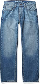 Nautica Men's Relaxed Fit Jean Pant Jeans