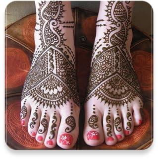 Bridal Mehndi Design - Feet