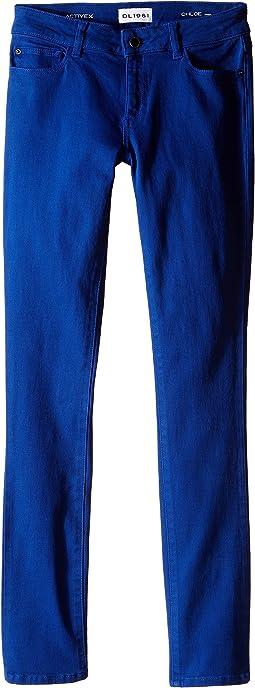 Chloe Skinny Jeans in Bluecrush (Big Kids)