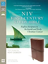 NIV, First-Century Study Bible, Leathersoft, Brown: Explore Scripture in Its Jewish and Early Christian Context