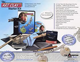 Art Clay Pure Silver Jewelry Making Starter Kit with Instructional DVD