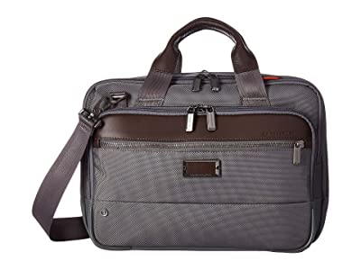 Briggs & Riley @Work Small Expandable Brief (Grey) Briefcase Bags