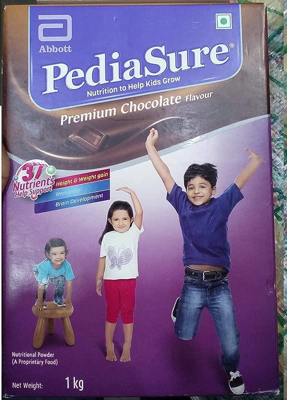 PediaSure Premium Chocolate 1Kg 35 2Oz Case For Kids 2 Years To 10 Years