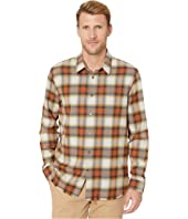 Randy Long Sleeve Sport Shirt, Button Closure, Long Body, R W665V3B