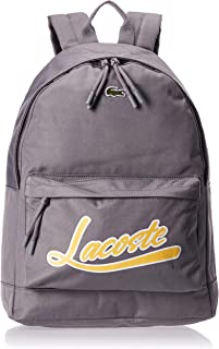 Lacoste Mens Backpack, Grey (E71) - NH3125NT