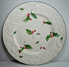 Mikasa English Countryside Seasons Holly Dinner Plate 11