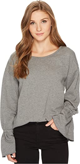 kensie - Cozy Fleece Sweatshirt KS0K3606